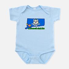 ILY Connecticut Infant Bodysuit