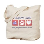 Yellow Lab Tote Bag