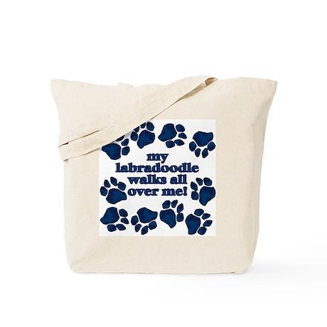 Labradoodle WALKS Tote Bag