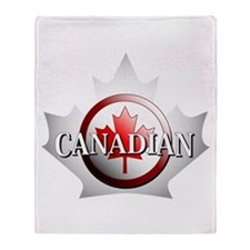 I be Canadian Throw Blanket