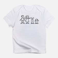 2 bunnies family Infant T-Shirt