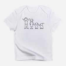 2 lop bunnies family Infant T-Shirt
