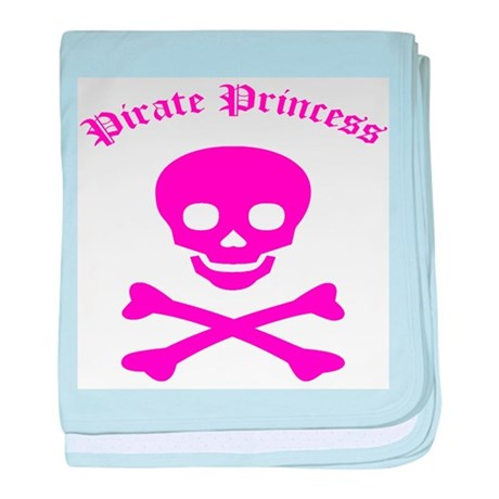 Pirate Princess baby blanket