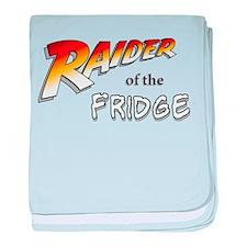 Raider of the Fridge baby blanket