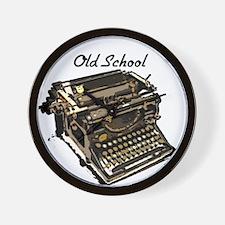 Old School typewriter Wall Clock