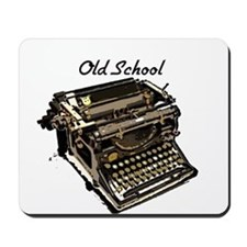 Old School typewriter Mousepad