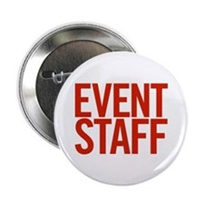 "Event Staff (red) 2.25"" Button (10 pack)"