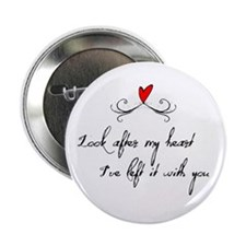 "Look After Heart 2.25"" Button"