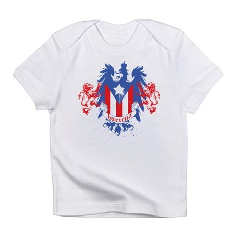 Boricua Crowned Infant T-Shirt