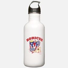 Puerto Rican Congas Water Bottle