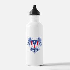Puerto Rico Wings Water Bottle