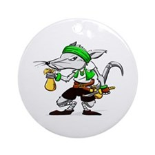 Dirty Rat Ornament (Round)