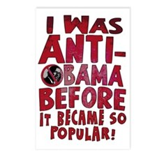 Anti-Obama Popular Postcards (Package of 8)