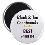Black & Tan Coonhound Best Breed Magnet