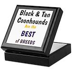 Black & Tan Coonhound Best Breed Keepsake Box