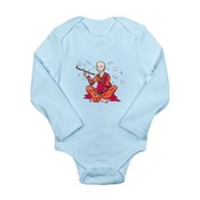 Monk Long Sleeve Infant Bodysuit