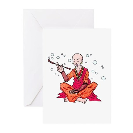 Monk Greeting Cards (Pk of 20)