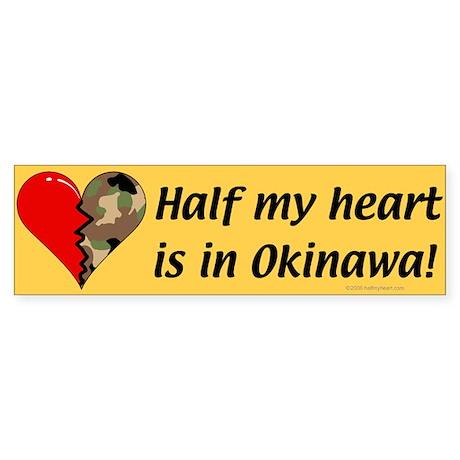 Okinawa Bumper Sticker
