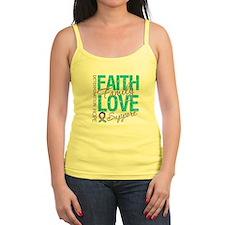 Thyroid Cancer Faith Family Jr.Spaghetti Strap