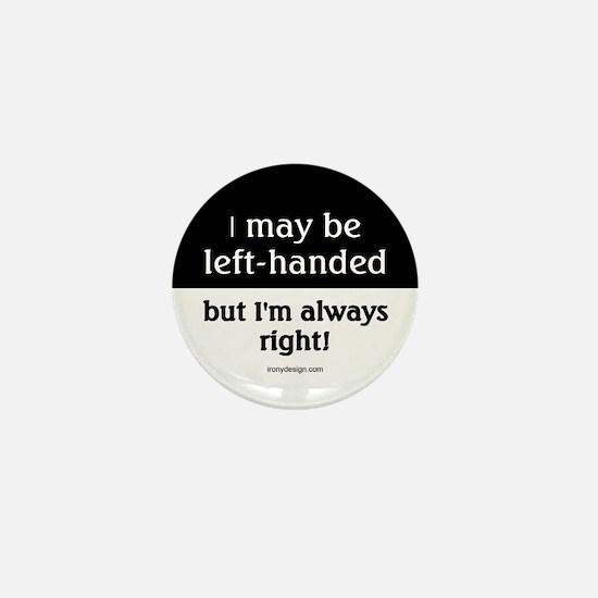Left-Handed Mini Button