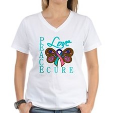 Thyroid Cancer PeaceLoveCure Shirt