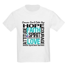 Thyroid Cancer CantTakeHope T-Shirt