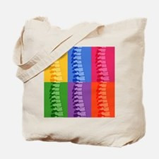 Spine Pop Art Tote Bag