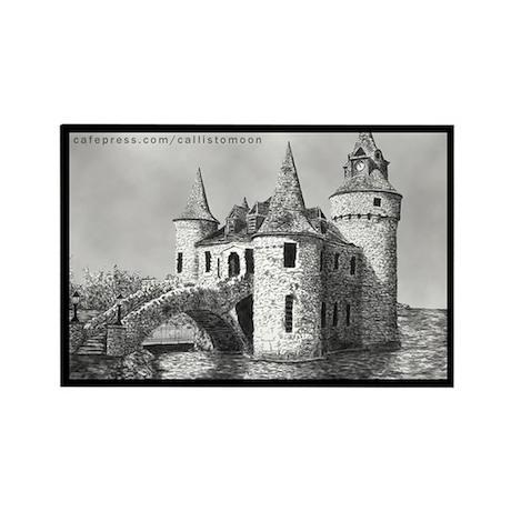 Boldt Castle Powerhouse Rectangle Magnet (10 pack)