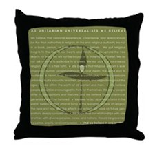 Funny Anti establishment Throw Pillow