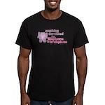 Irrelephant Elephant Men's Fitted T-Shirt (dark)