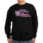 Irrelephant Elephant Sweatshirt (dark)