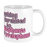 Irrelephant Elephant Mug