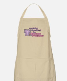 Irrelephant Elephant Apron