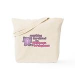 Irrelephant Elephant Tote Bag