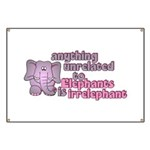 Irrelephant Elephant Banner