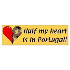 Portugal Bumper Car Sticker