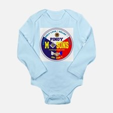 Unique Freemason Long Sleeve Infant Bodysuit