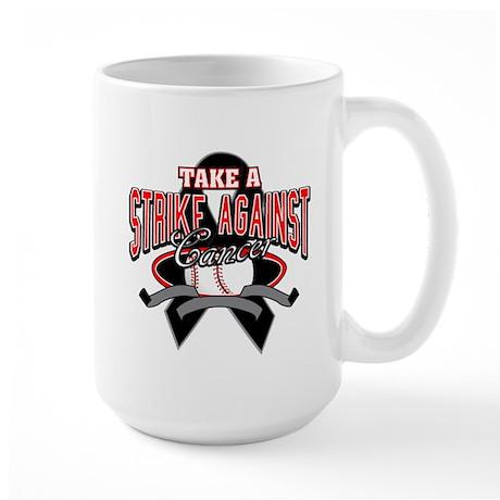 Take a Strike Skin Cancer Large Mug