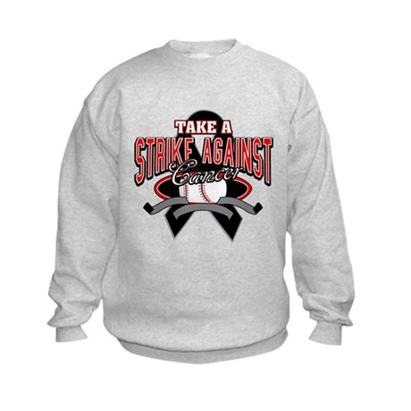 Take a Strike Skin Cancer Kids Sweatshirt