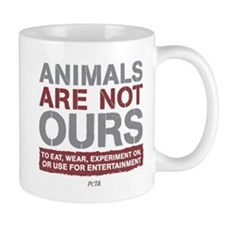 Animals Are Not Ours Small Mugs
