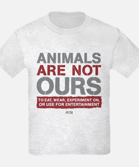 Animals Are Not Ours T-Shirt