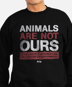 Animals Are Not Ours Sweatshirt (dark)