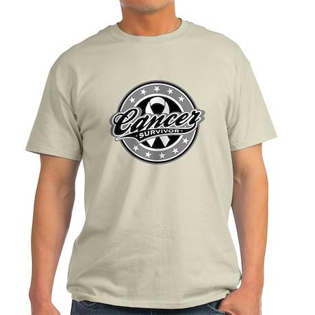 Survivor - Skin Cancer Light T-Shirt