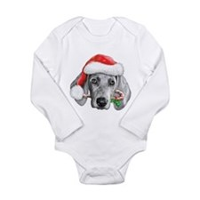 Weirmaraner Long Sleeve Infant Bodysuit