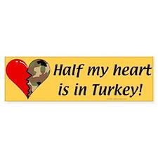 Turkey Bumper Bumper Sticker