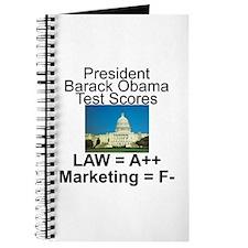 Obama's test scores Journal