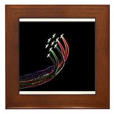 RAF Red Arrows Aero-Art - Framed Tile