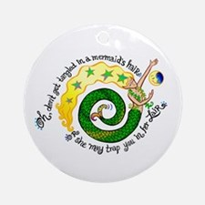 Don't get Tangled Ornament (Round)