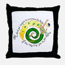 Don't get Tangled Throw Pillow