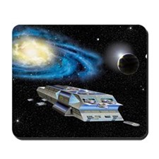 Journey to Andromeda Mousepad